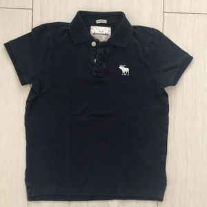 Boys Abercrombie muscle polo